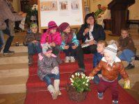 Herta erzählte die Geschichte der hl. Elisabeth